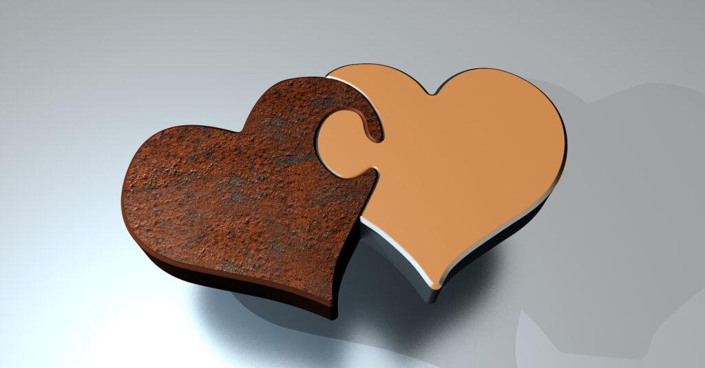 Puzzle-Herz